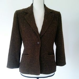 Daisy Fuentes Women's Brown Woven Jacket